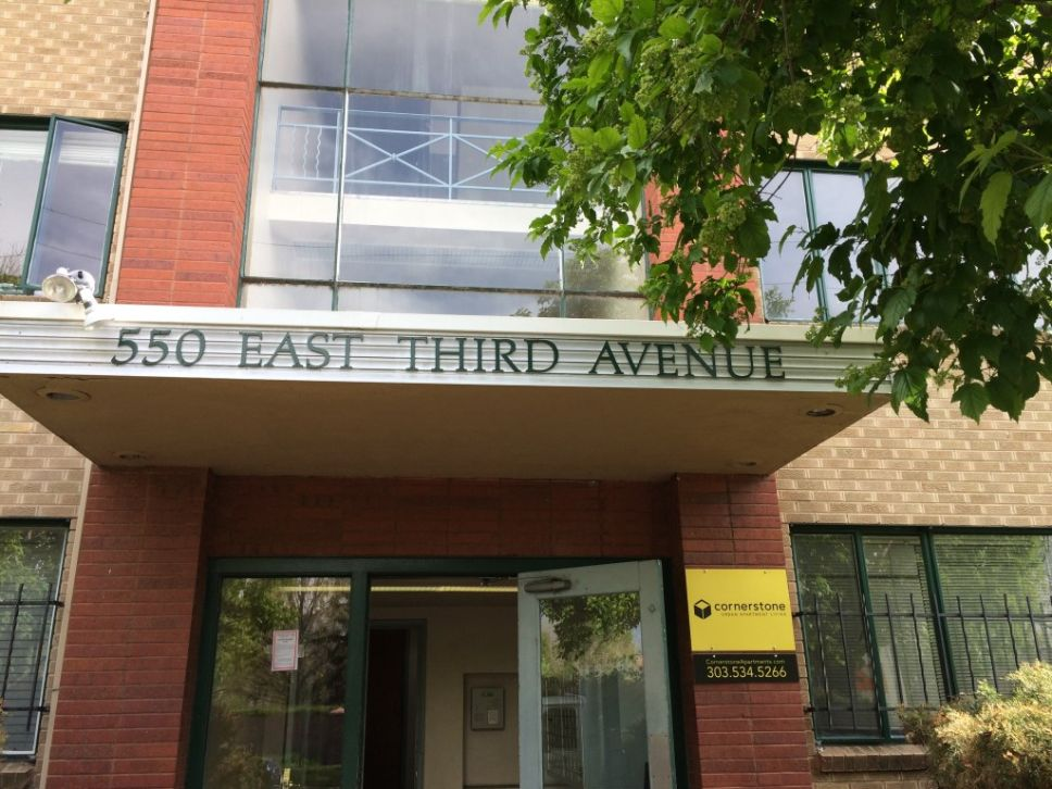Apartment Exterior on East Third Avenue