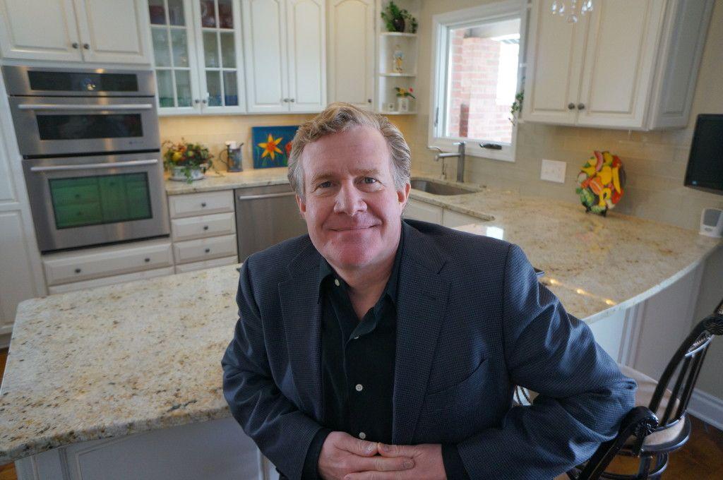 Bill Kalin Portrait in a Kitchen